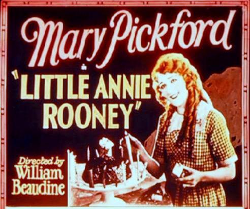 MAGIC LATERN SLIDE - LITTLE ANNIE ROONEY-492x478