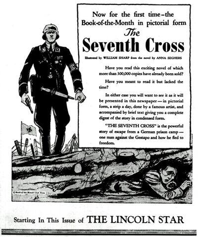 Seventh Cross promo 19421103 (The Lincoln Star)