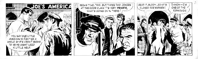 Big Ben Bolt daily 26-11-1957 us