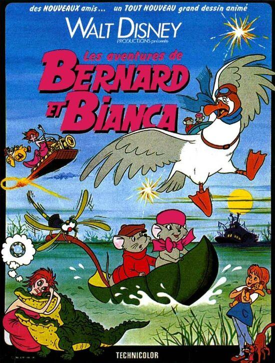 Les Aventures de Bernard et Biancagr