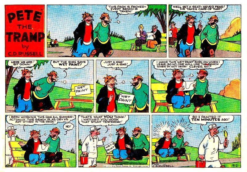 Pete tramp 2-9-1951
