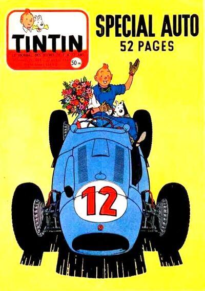 Tintin auto