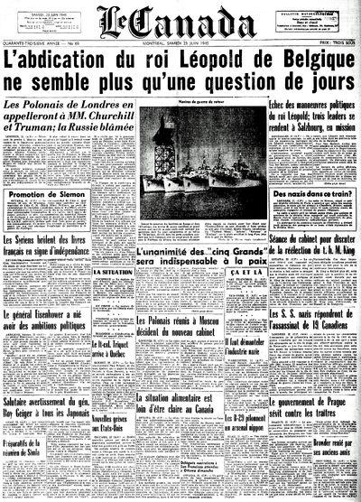Canada 23-6-1945
