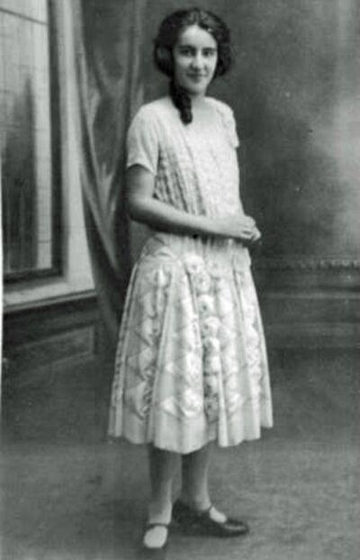 Odette 1925.