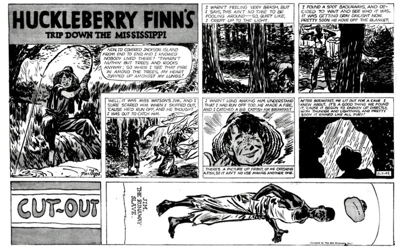 Huckleberry Finn 1945-08-05 Phillips