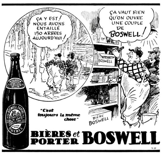 Boswell freyse - Soleil 6 avril 1940