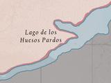 Lago de los Huesos Pardos