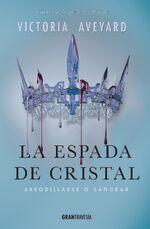 Portada Oficial de La Espada de Cristal