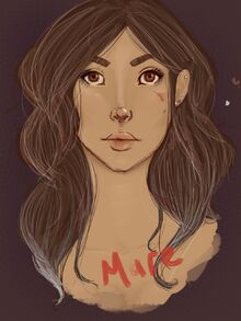 Mare Barrow (Fan art de Admacosta)