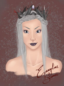 Evangeline Samos by Admacosta
