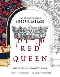 Portada Oficial del libro para colorear de La Reina Roja