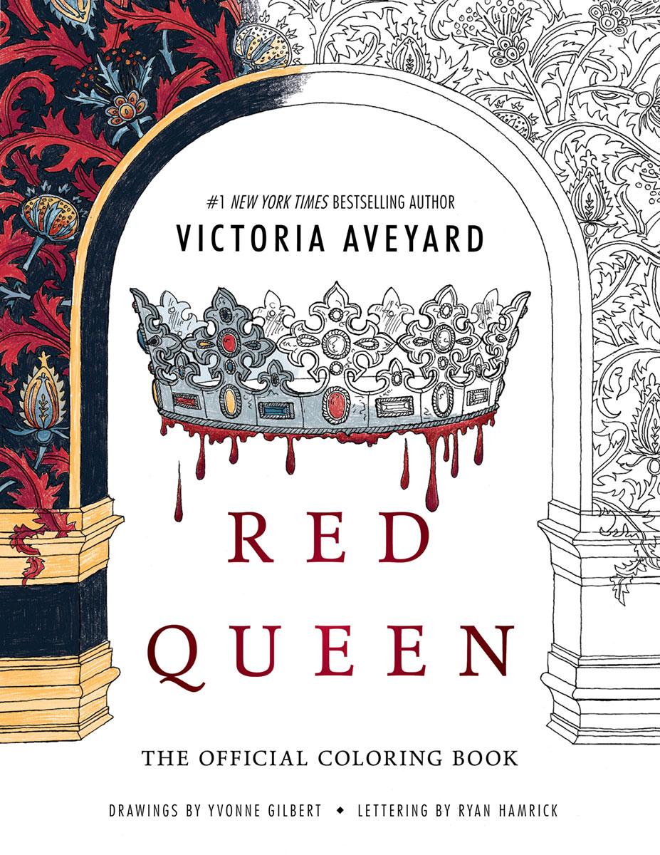 Imagen - Portada Oficial del libro para colorear de La Reina Roja ...