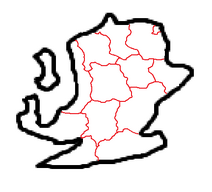 Mapa y división de Babun