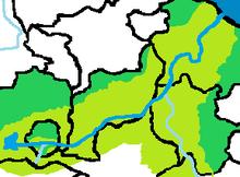 Ubicación del Rio Bencennt