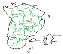 Ciudades importantes de Benween