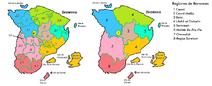 Regiones Administrativas de Benween