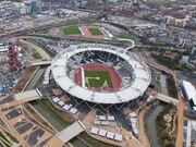 Olympic Stadium (London), 16 April 2012