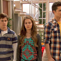 Robot Adam, Bree and Chase
