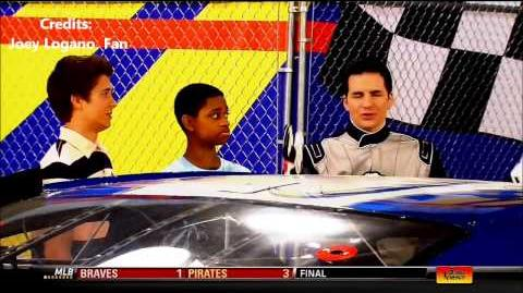 Lab Rats Sneak Preview with NASCAR driver Joey Logano