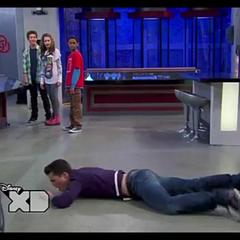 Adam on the ground