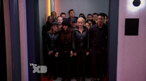 Bionic Soldiers in the elevator of the second lab (Lab Rats 3x20 Bionic Houseparty) (1)