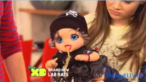 """""""Lab Rats"""" promo for """"Chore Wars"""""""