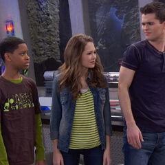 Leo, Bree and Adam