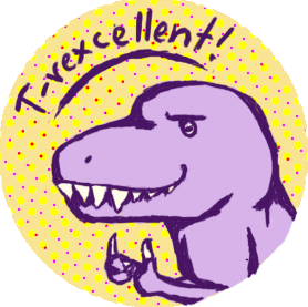image t rex stamp of approval by 101wildchild101 d3e1257 png