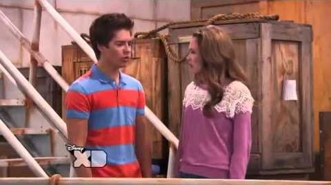 Lab Rats Bree and Chase Smile