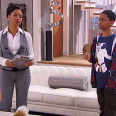 Leo questions Tasha, not knowing he is in a parallel universe