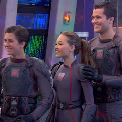 Adam, Bree and Chase learning they'll go on their first mission