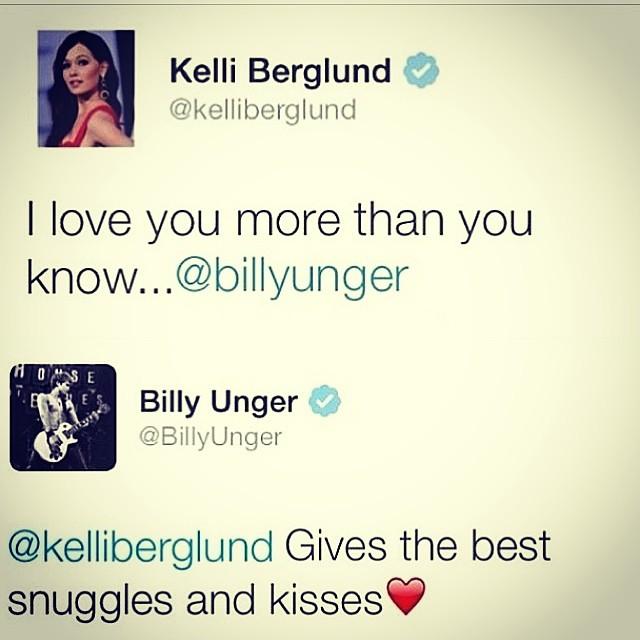 Billy Unger And Kelli Berglund 2015