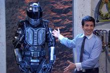 Presenting exoskeleton
