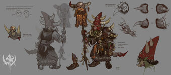Chamán Goblin por Jonathan Kirtz Warhammer Online