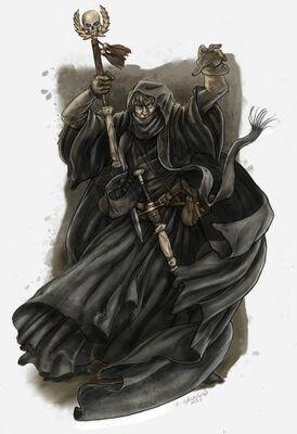 Hechicero Gris por Caleb Cleveland