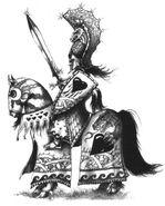 Héroe Alto Elfo por John Blanche