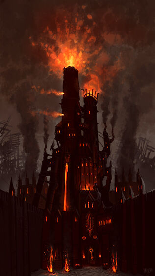 Altdorf - Warhammer Online Exterior Colegio Brillante por Jonathan Kirtz.jpg