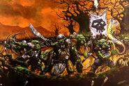 Guerreros Goblins por Karl Kopinski
