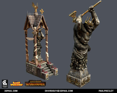 Altar sigmar warhammer total war por Paul Presley