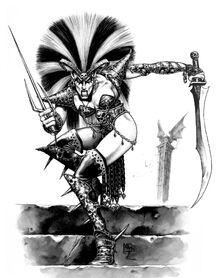 Bruja Elfa por Mark Gibbons