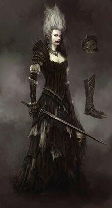 Nethys por Daarken vampiresa Condes Vampiro