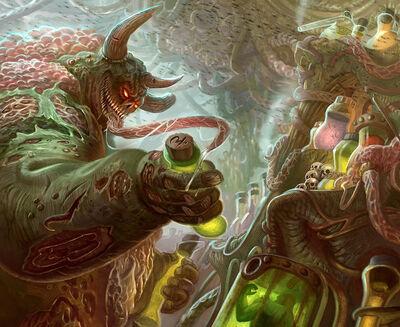 Laboratorio Infame warhammer 40k conquest por jubjubjedi-d7t3v60 Inmundicia Nurgle