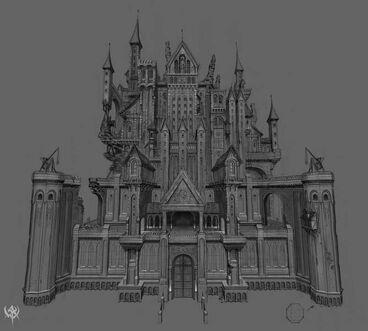 Warhammer age of reckoning conceptart Castillo Imperio (2)