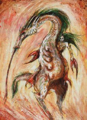 Rastreaalmas Slaanesh Art por John Blanche