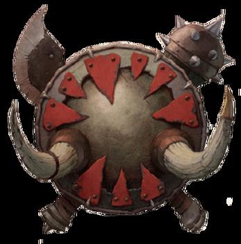Warhammer Símbolo Reinos Ogros