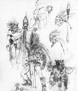 Bocetos Arúspices por Dave Gallagher