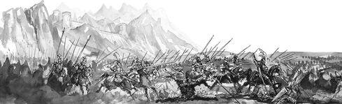 Carga de la caballería Imperial