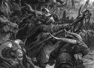 Carga de los Hombres Bestias por Alex Boyd