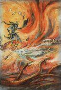 Heraldo de Tzeentch Art de John Blanche
