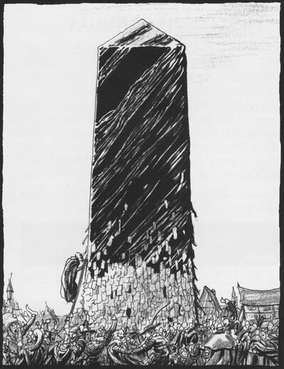 Obelisco de las Leyes por Tony Parker